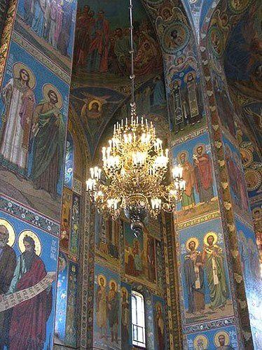 Eglise Saint Sauveur sur le Sang versé. St Pétersbourg (fin)