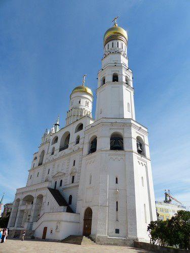 Je suis entrée au Kremlin !