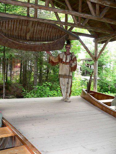 Du village indien aux chutes de Montmorency...