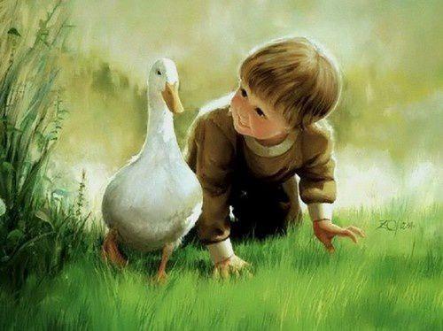 Donald Zolan, peintre des enfants  ( 2 )