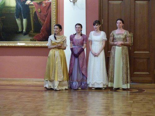 Réception au palais du Gouverneur .
