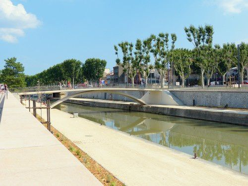 Les quais de Narbonne ont fait peau neuve....