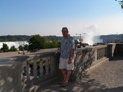 Au coeur des chutes de Niagara