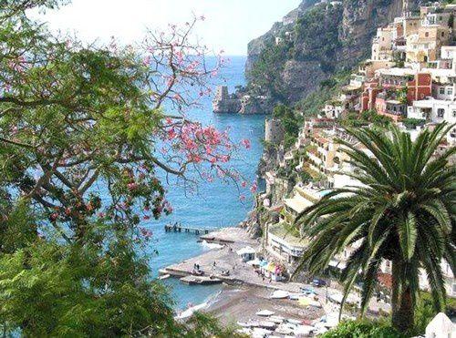 Positano,  la belle italienne.