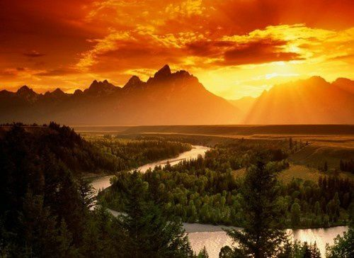 Snake River   Grand Téton National Park   Wyoming