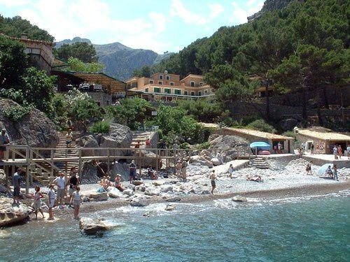 La plage de Sa Calobra.