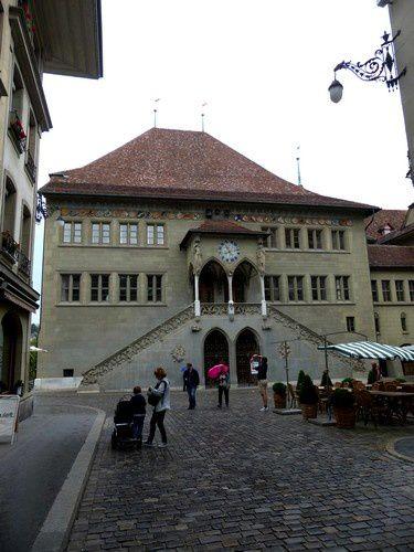La mairie de Berne . Berne n'est jumelée avec aucune autre ville.