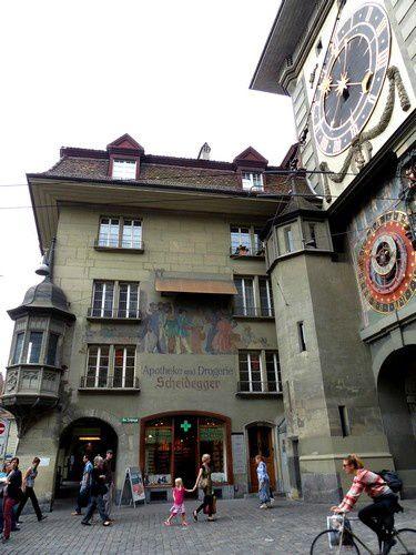 Balade dans les rues de Berne.