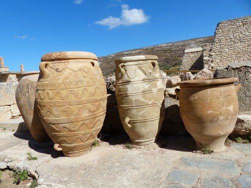 Crète : le palais du roi Minos.