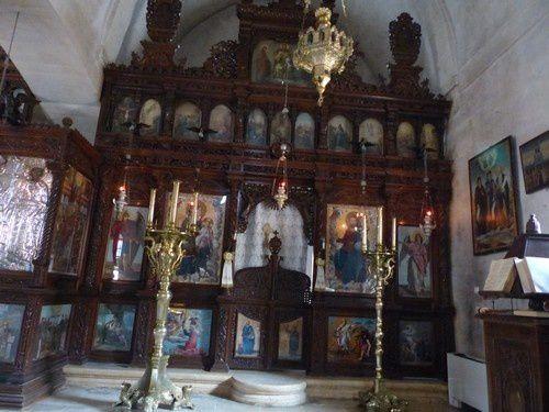 Le monastère d'Arcadi, haut lieu de la résistance crétoise.