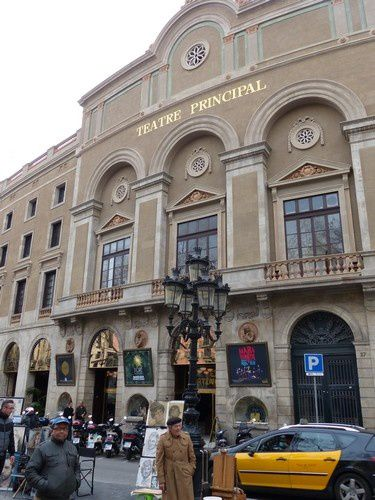 Le théâtre principal de Barcelone.