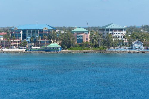 Le rivage de Grand Cayman