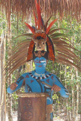 L'attrape-touristes maya de l'île de Cozumel.