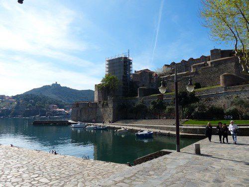 Autour du château royal de Collioure