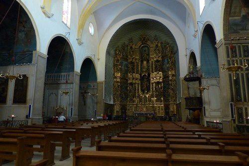 L'anse de Collioure et sa célèbre église.