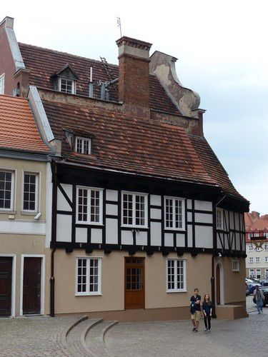 Flânerie  polonaise  à  Gdansk.