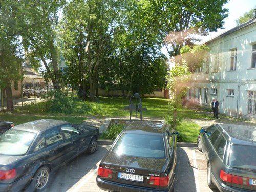 Dans les rues de Klaipeda...