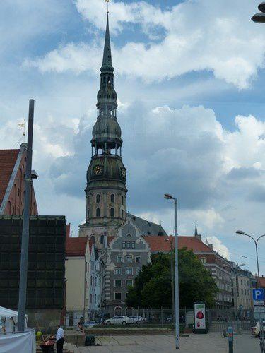 Riga : le centre historique   ( fin )
