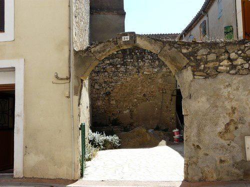 La partie contemporaine de Fleury d'Aude.
