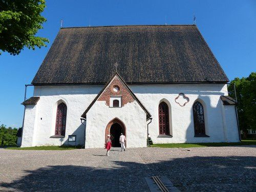 Porvoo : le Moyen Âge en Finlande.