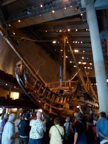 L'étrange musée Vasa à Stockholm