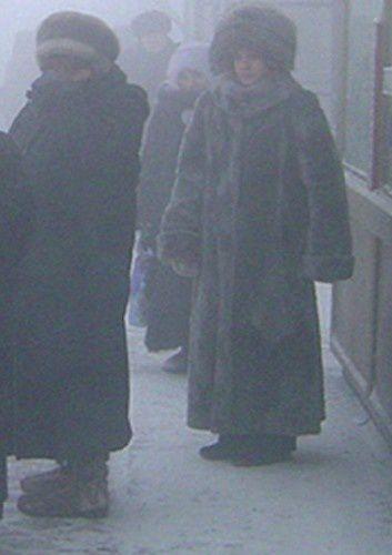 Yakutsk, la ville la plus froide du monde.