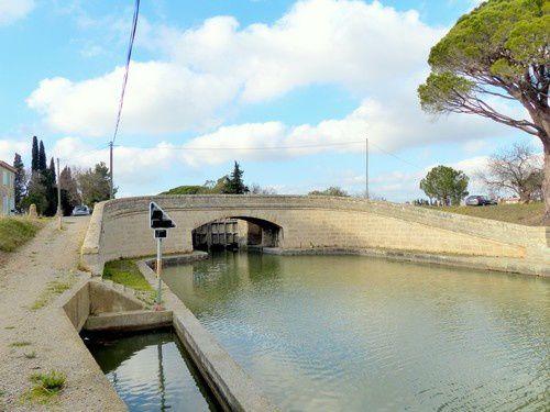 Le canal de Jonction à Sallèles d'Aude