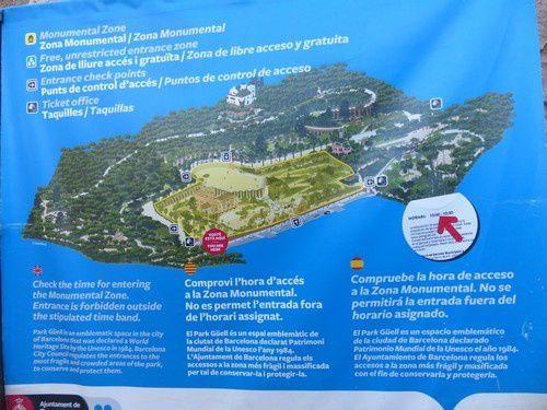 Barcelone : le parc Güell