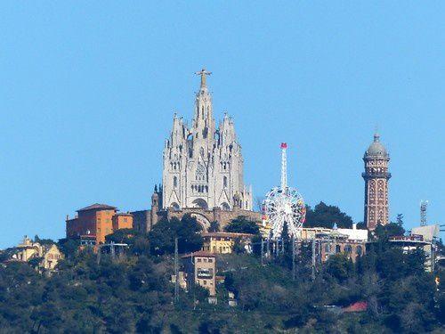 Barcelone : les anciennes arènes.