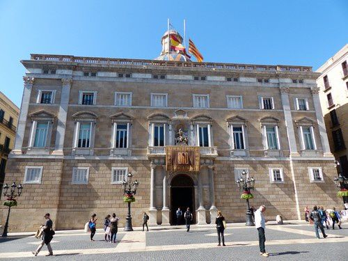 Barcelone : Le quartier des officiels
