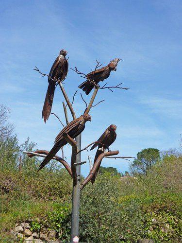 Les sculptures en fer de Ille sur Têt