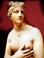 Vénus  statue de marbre.