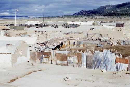 Village algérien en 1960 : Bekkaria