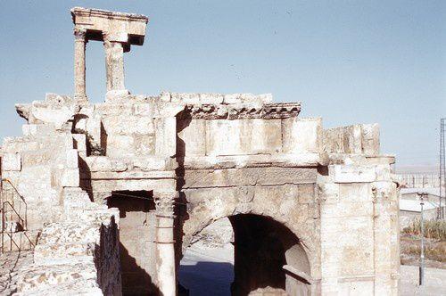 Les ruines romaines de Tébessa