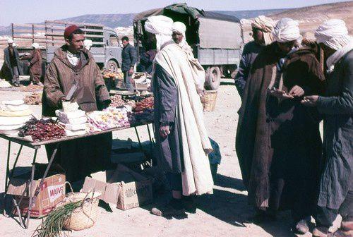 Jour de marché à Aïn Zerga