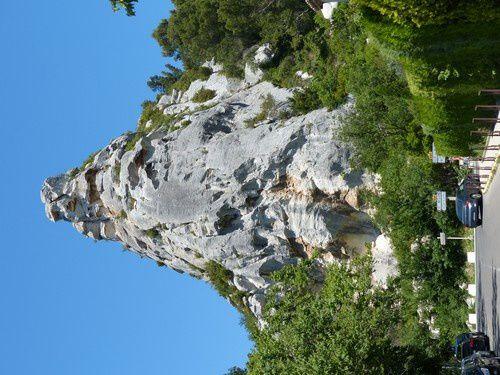 Voir les Baux de Provence...de loin !