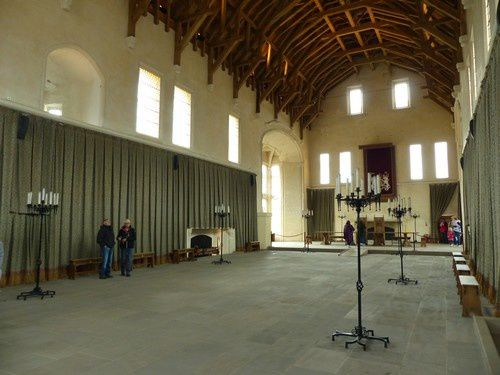Visite de l'intérieur du château de Stirling