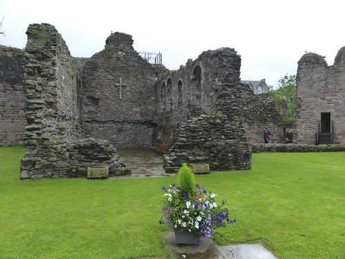 Les ruines du  château de Rothesay