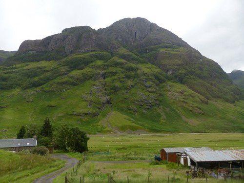 Dans les highlands sauvages de Glencoe