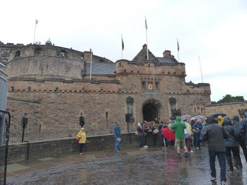 Le château d' Edimbourg  ( 1 )