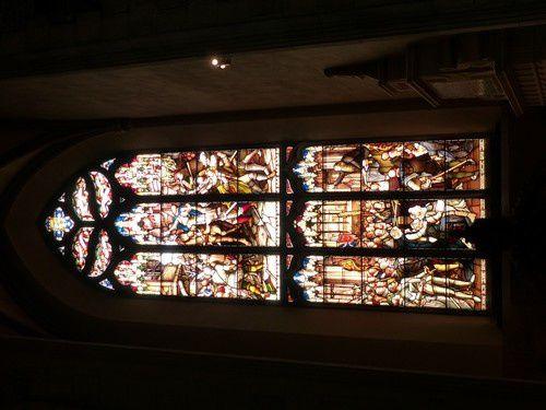 La cathédrale St Gilles à Edimbourg. Fin du voyage.