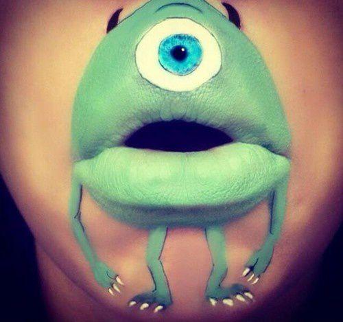 L'art de maquiller sa bouche.