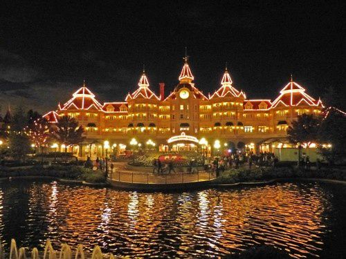 J'ai aimé manger à Disneyland