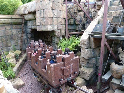 Les attractions de Eurodisney ( 1 )