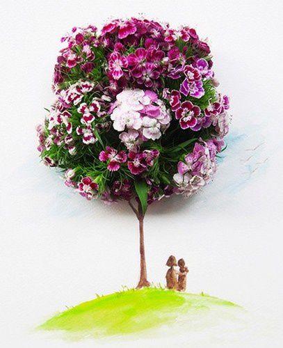 Je fleuris votre dimanche !