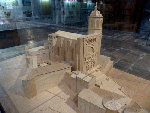 La cathédrale  de Gérone.