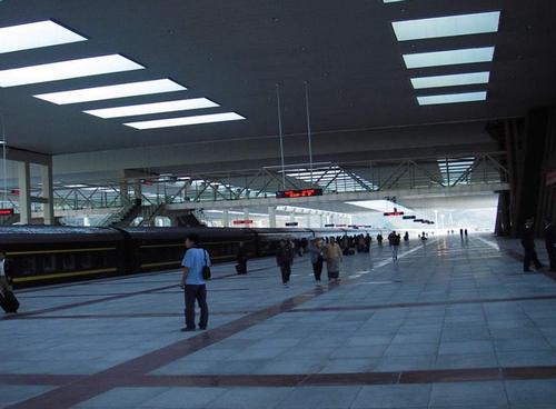 Le chemin de fer le plus haut du monde est en Chine.