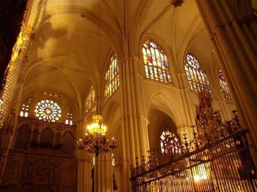 Cathédrale et artisanat de Tolède.