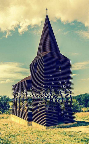 Une église très spéciale en Belgique !