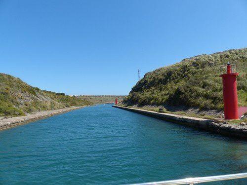 Croisière dans le port naturel de Mahon